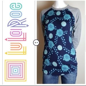 Lularoe Floral Long Sleeves Tee - Size XS